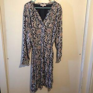 Loft Plus Paisley Dress